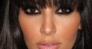 Maquille sexy para morenas como Kim Kardashian