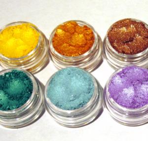 Pigmentos en el Maquillaje