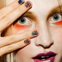 tiras adhesivas para las uñas